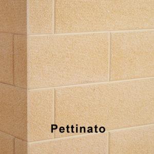 Blocco Pettinato